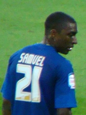 Jlloyd Samuel - Samuel playing for Cardiff City in 2011
