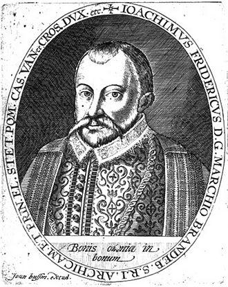 Johann Bussemacher - Joachim III Frederick, Elector of Brandenburg, ca. 1600.