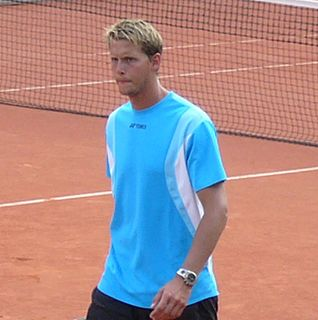 Joachim Johansson Swedish tennis player