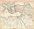 Joannes Covens. Córnelis en Pieter Mortier. Byzondere Kaart van de Landen daar de Apostelen het Evangelium gepredikt hebben.1725.jpg