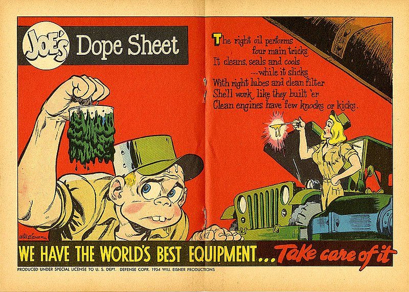 File:Joe's Dope Sheet (Issue 022 1954 page024 page025) (16649100300).jpg