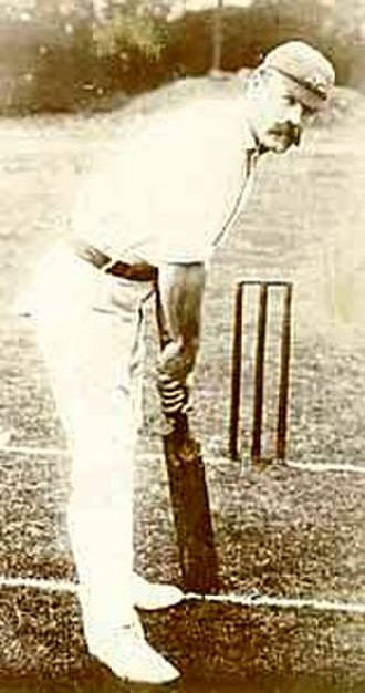 Joe Darling - Darling's stance at the wicket