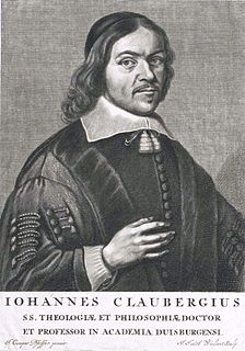 Johannes Clauberg German philosopher