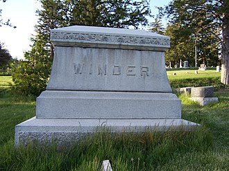 John R. Winder - Image: John R Winder Monument