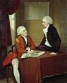 John Downman (1750-1824) - Sir Ralph Abercromby (^) and Companion - N03316 - National Gallery.jpg