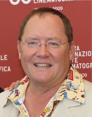 Tin Toy - John Lasseter at the Venice Film Festival in 2009.