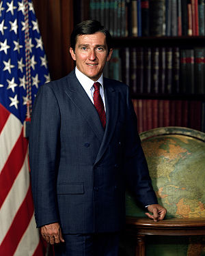 John Lehman - Image: John Lehman, official photo as Secretary of the Navy, 1982