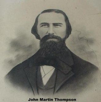 Mount Tabor Indian Community - John Martin Thompson