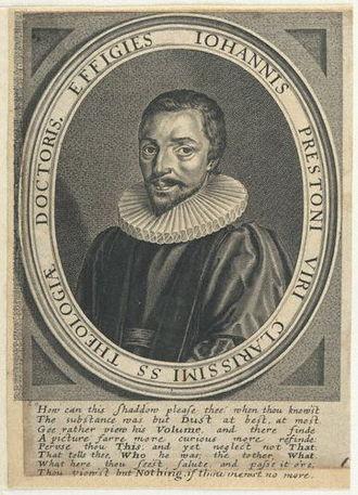 John Preston (priest) - John Preston, 1629 engraving