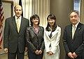 John Roos Susan Roos Agnes Chan and Ken Hayami 20100225.jpg
