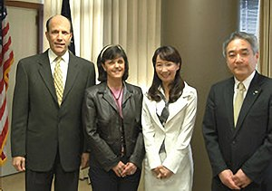 Agnes Chan - Image: John Roos Susan Roos Agnes Chan and Ken Hayami 20100225