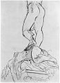 John Singer Sargent Rear View of the Legs and Upper Base of Cellini's Perseus.jpg