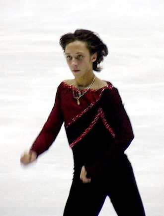Johnny Weir - Weir competing at the 2004 NHK Trophy
