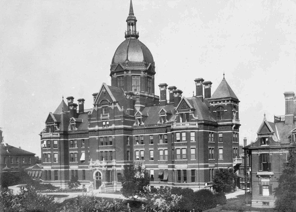 Johns Hopkins Hospital, early photo