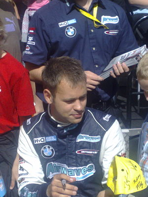 Jonathan Adam - Adam at the 2009 BTCC Festival in Edinburgh.