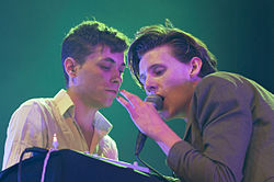 Jonathan Rado and Sam France of Foxygen @ Flow 2015.jpg