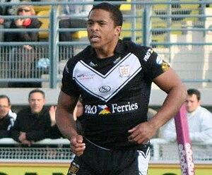 Jordan Turner - Turner playing for Hull FC in 2010