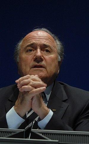 61st FIFA Congress - Image: Joseph Blatter 8 cropped