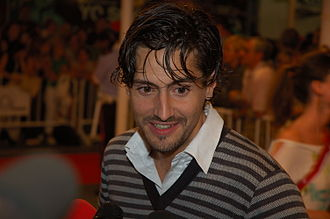 Juan Diego Botto - Juan Diego Botto at the 2006 San Sebastián international film festival.
