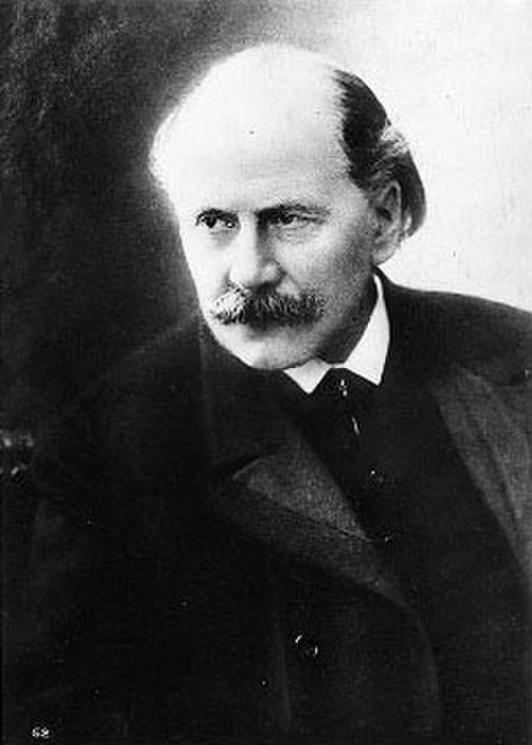 Photo Jules Massenet via Wikidata