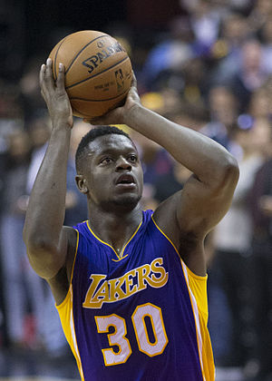 Julius Randle - Randle with the Lakers in December 2015