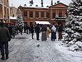 Julmarknad på Gamla Stortorget 2014 skådespel.JPG