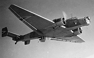 Junkers Ju 86 Airliner and medium bomber aircraft