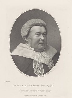 James Martin (Australian politician) - Image: Justice James Martin