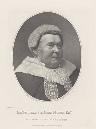 Chief Justice of New South Wales - Image: Justice James Martin