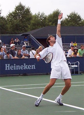 New Vernon, New Jersey - Justin Gimelstob
