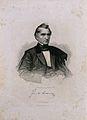 Justus von Liebig. Line engraving by A. Weger. Wellcome V0003557ER.jpg