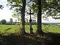 Kříž u okraje lesa severně od Záhostic (Q80461397).jpg