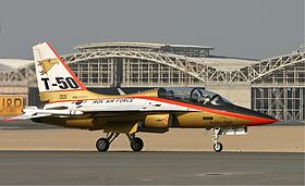 T-50 Golden Eagle - Wikipedia bahasa Indonesia, ensiklopedia bebas