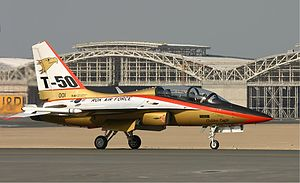"KAI T-50 ""Golden Eagle"""