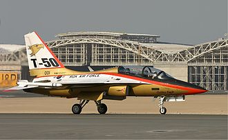 KAI T-50 Golden Eagle - An ROKAF T-50, 2005