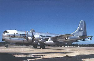 Boeing KC-97 Stratofreighter - KC-97L in Ohio Air National Guard markings