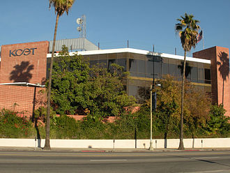 KCET - KCET's longtime studios in Los Angeles.