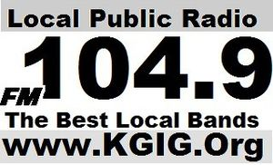 KGIG-LP - Image: KGIG Modesto Community Radio Station with the best local bands