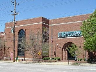 Kentucky Lottery - Kentucky Lottery's headquarters in Louisville's Portland neighborhood