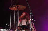 Kadavar (German Psychedelic Rock Band) (Krach Am Bach 2013) IMGP8906 smial wp.jpg