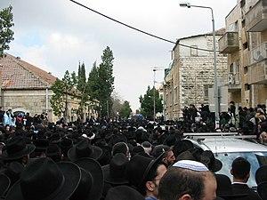 2006 in Israel - Yitzchak Kaduri's funeral in Jerusalem