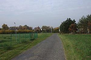 Kalinowice, Opole Voivodeship - Image: Kalinowice, jižní okraj vesnice