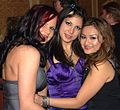 Kami Andrews, Gia Jordan, Cheryl Dynasty at 2006 AVN Awards.jpg