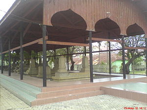 Aceh Sultanate - Sultan tomb complex from era before Iskandar Muda in Banda Aceh