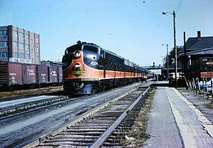 1971 Salem, Illinois, derailment - Image: Kankakee IC Aug 1964 3 04