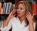 Karen Maron. Conferencia sobre Medio Oriente. Diario el Tiempo. Bogotá. Colombia..jpg