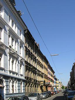 Schützenstraße in Karlsruhe