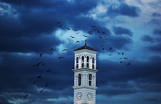Cathedral of Saint Mother Teresa, Pristina - Bell tower
