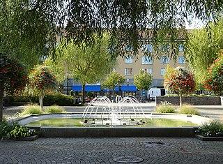 Katrineholm Place in Södermanland, Sweden