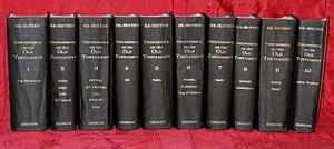 Franz Delitzsch - Keil–Delitzsch: Commentary on the Old Testament I–X. Grand Rapids 1975.
